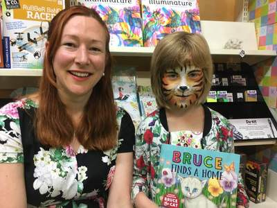 Kathryn van Beek's 'Bruce Finds A Home' book launch